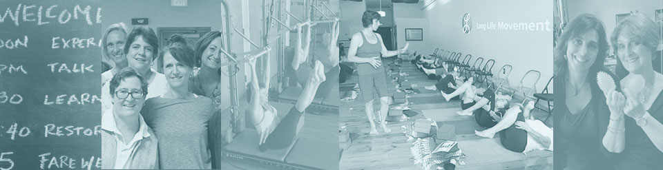 Lisa Long teaching Yoga and Pilates classes, workshops, and teacher trainings.